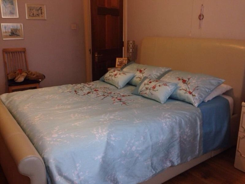 King size bed and mattress - fantastic condition