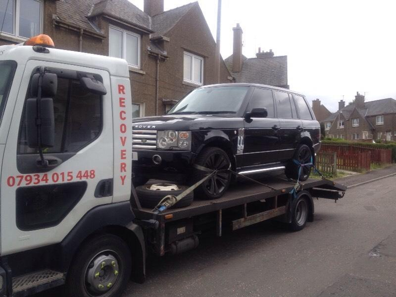24 hr BREAKDOWN RECOVERY SERVICE SRS EDINBURGH tel 07934015448