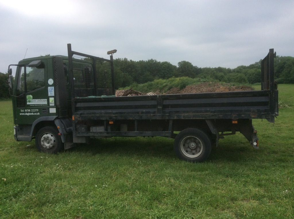 Ford Iveco tipper 7.5