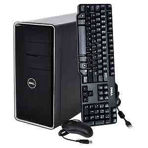 "Full Desktop Package 20"" Monitor Tower Keyboard and Mouse"