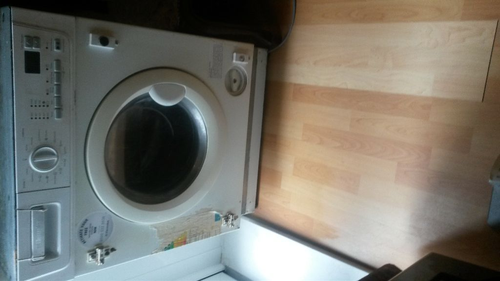 Used Integrated Electrolux washer / dryer