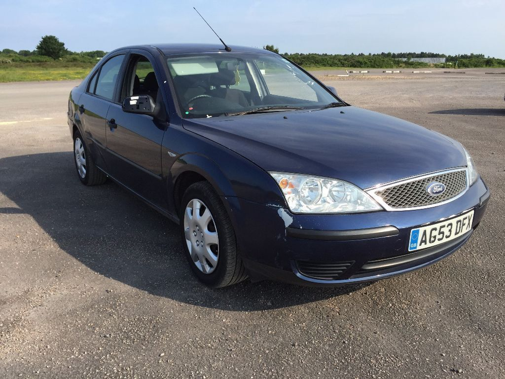 2004 FORD MONDEO AUTOMATIC AUTO HATCHBACK BLUE LOW MILEAGE CHEAP CAR GOOD DRIVE NOT PASSAT FOCUS