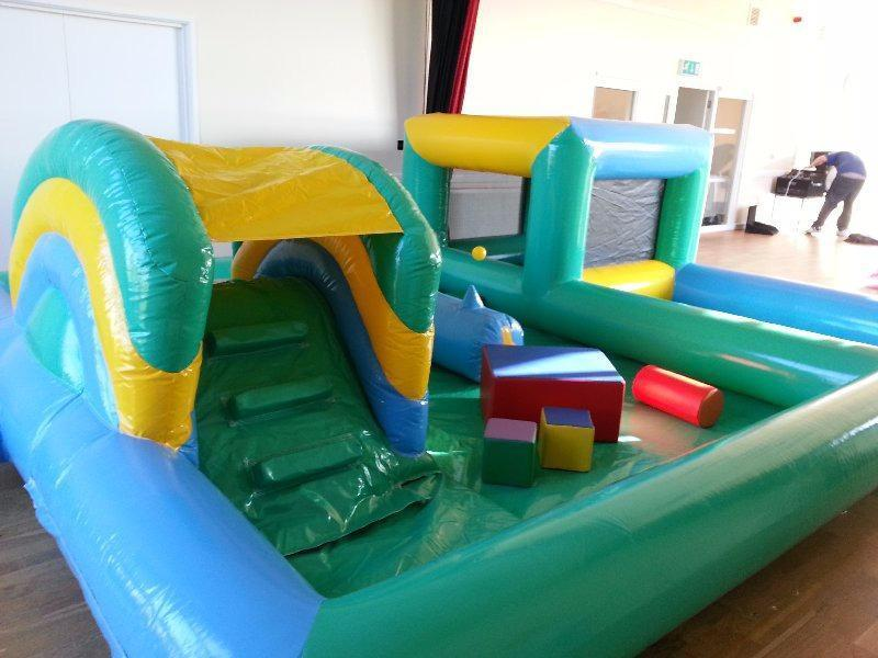 Toddler Party Packages - Soft play inflatable play zone and bouncy castle Bouncy Castle Hire