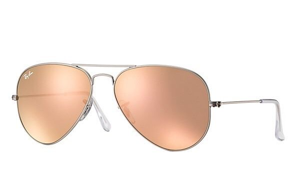 """Ray Ban """"Copper Flash"""" Aviator Sunglasses - practically brand new!! Perfect condition"""