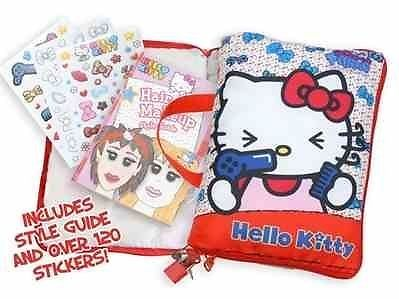 Hello Kitty Mini Secret Hair & Make Up Designer Pillow **BRAND NEW**