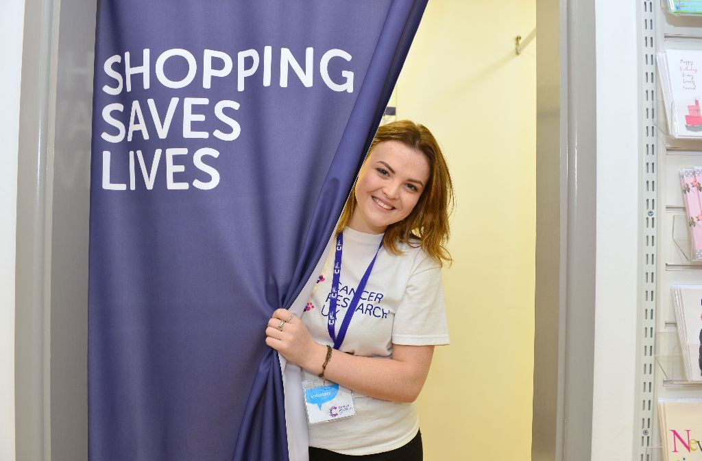 Shop volunteer for new Cancer Research UK shop in Bakewell
