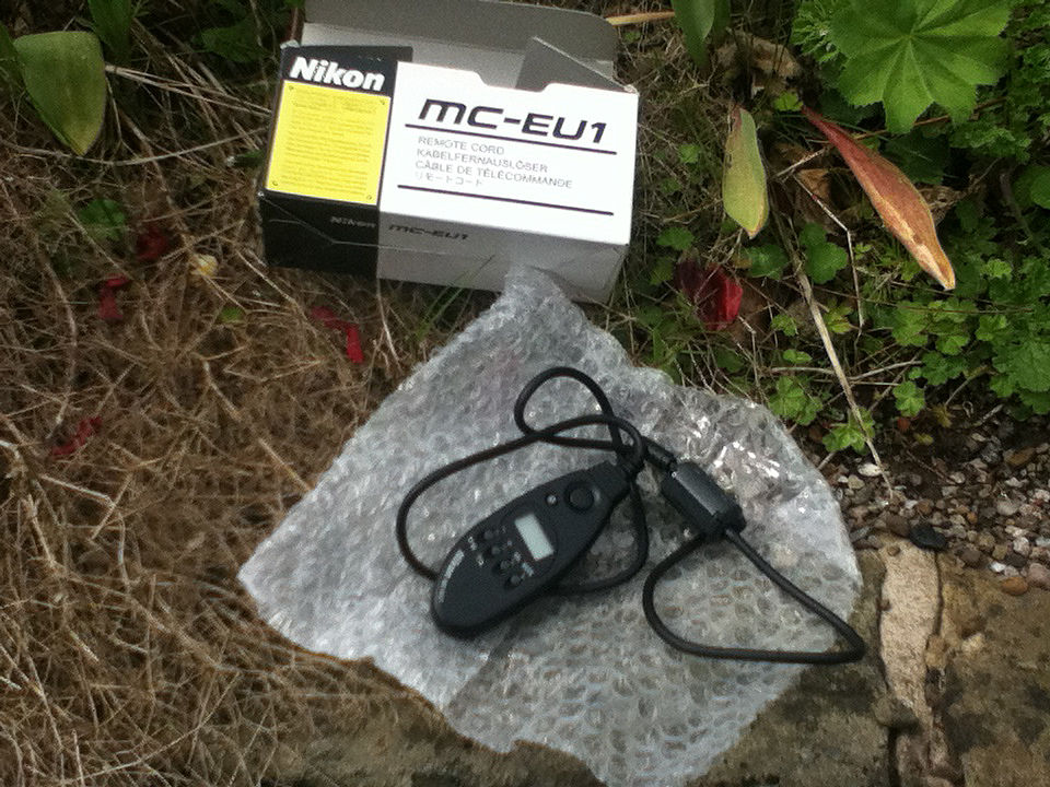 Nikon MC-EU1 Remote Cord. Still boxed. Unused.