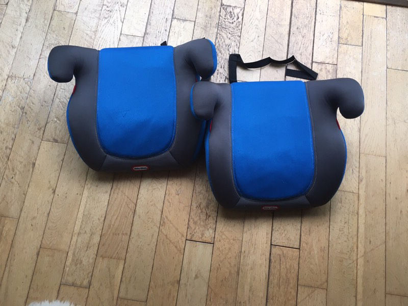 Little tikes booster seats x2