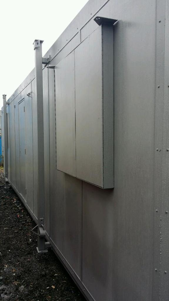 Portable cabin with NEW KITCHEN & TOILET portable office site office container mobile office