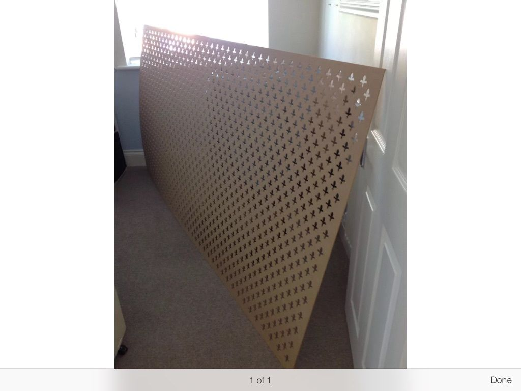MDF Decorative panel for radiator cover