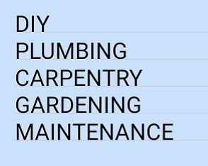 Couple with 30 years experience available DIY, Plumbing, Carpentry, Garden work, Renovations