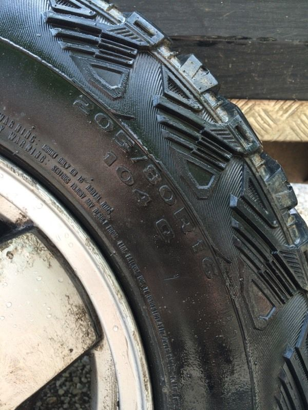 """Discovery 1 16"""" Alloy Wheel With Very Good Tyre"""