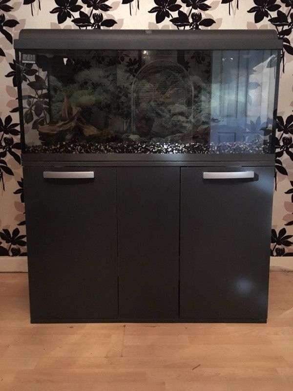 165 Ltr fish tank and complete set up