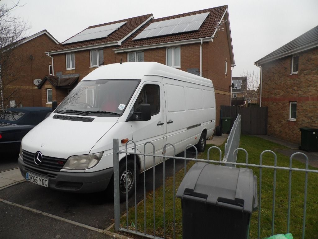 man with large van (very reliable) with tow bar