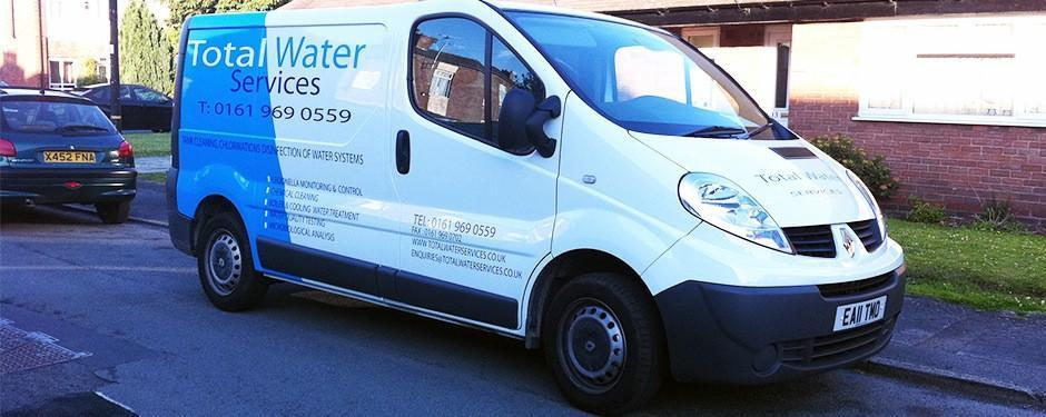 Van Wrapping - Southport Wraps - Commercial Single Van Including Signage