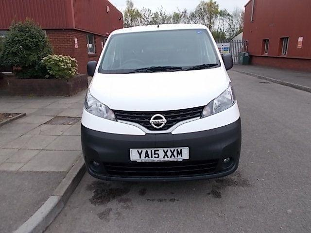 Nissan Nv200 1.5 DCI SE 89BHP VAN DIESEL MANUAL WHITE (2015)