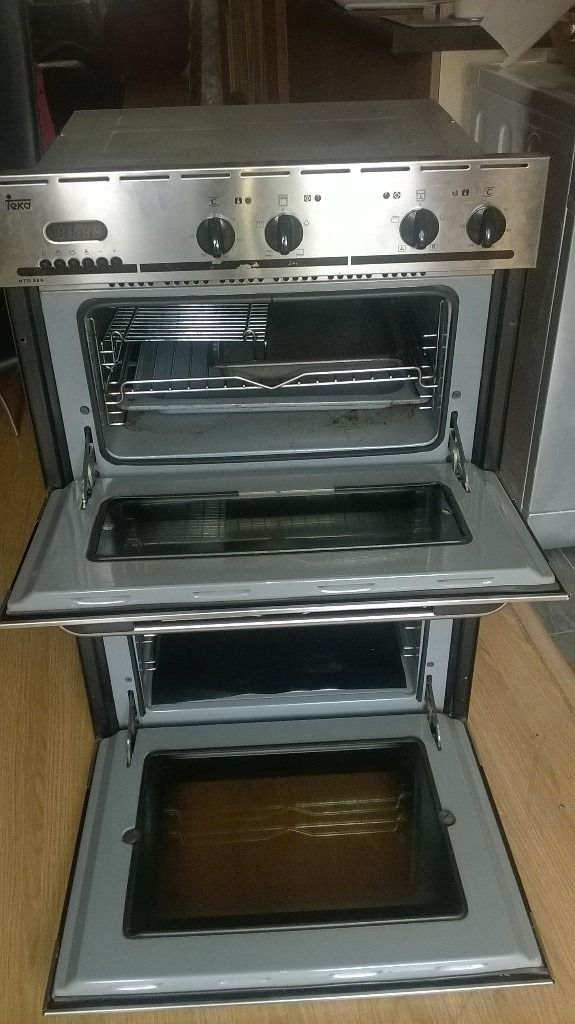 TEKA Electric stainless Double Oven (Fan oven and grill still in great condition works perfect