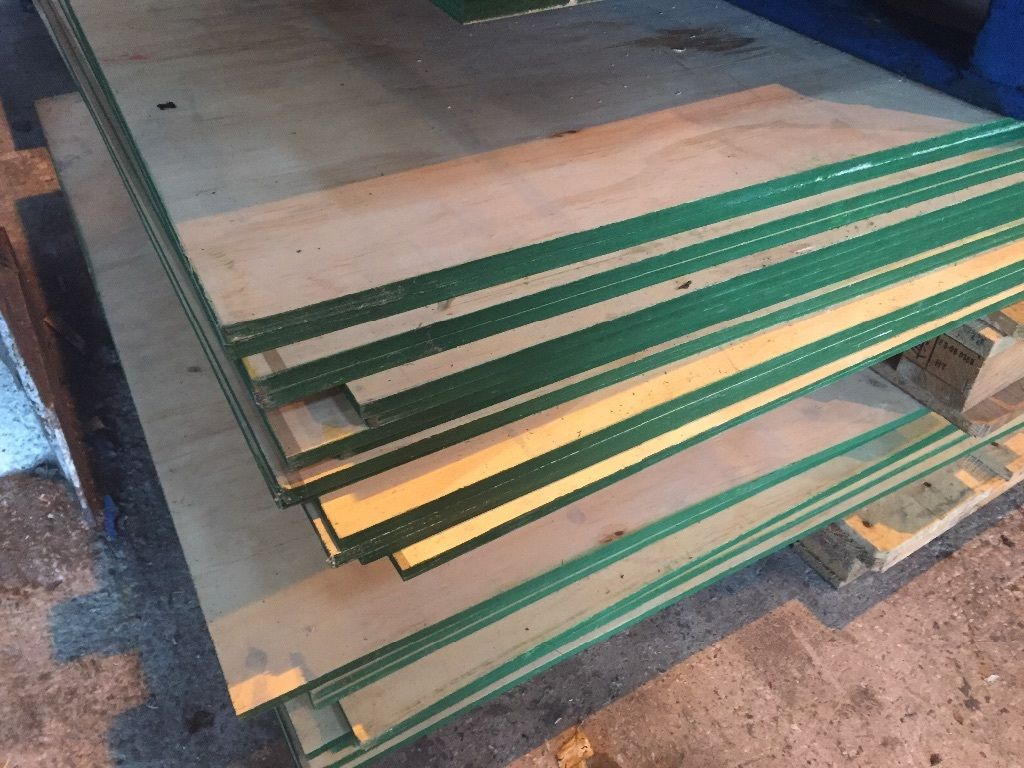 PLYWOOD SHEETS, 8FT x 4FT PLYWOOD SHEETS, 12mm THICK, RECLAIMED TIMBER