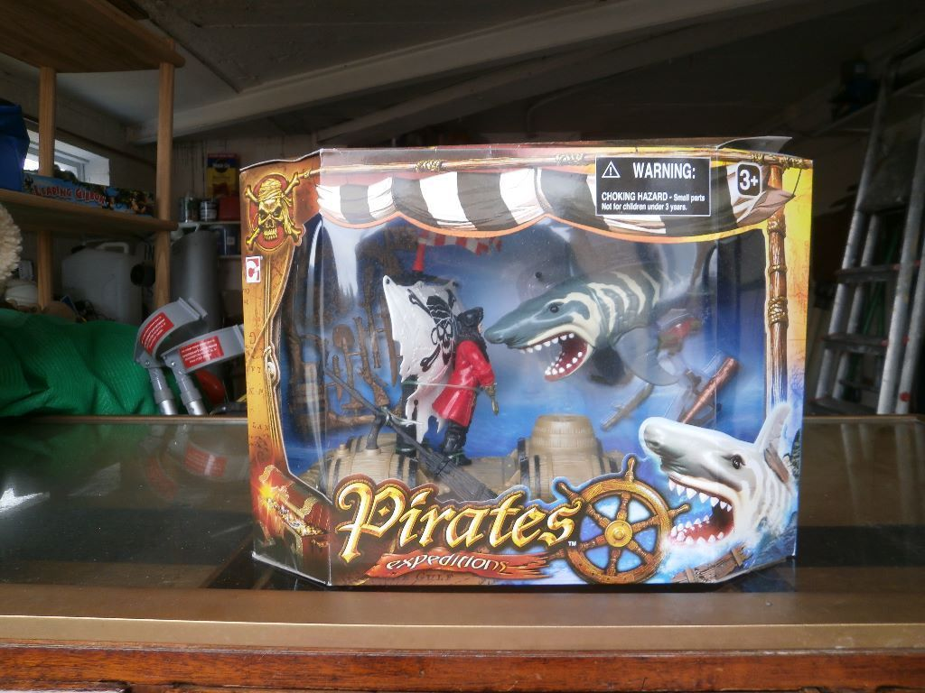 Pirate Shark Expedition Toy & Leaping Gibbon Game