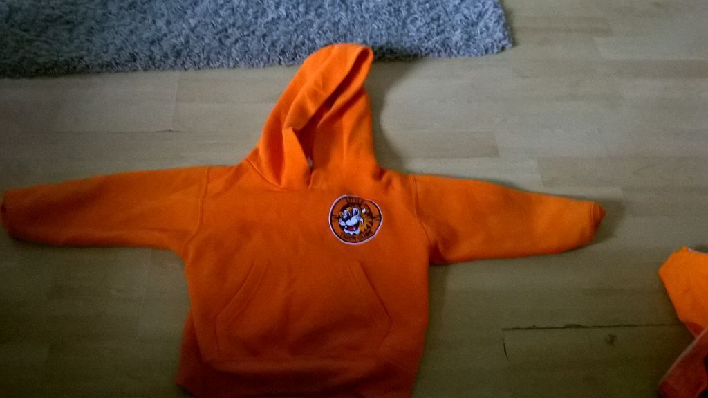 little tiger cubs tkwd suit belt and hoodie