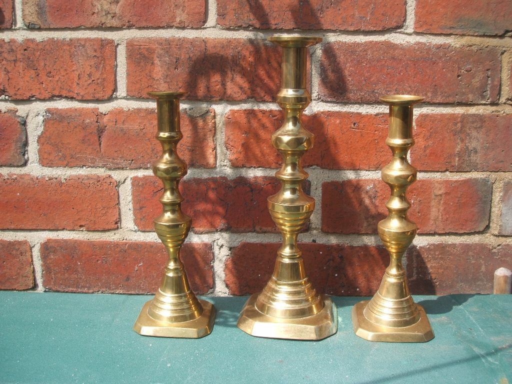 victorian candle sticks