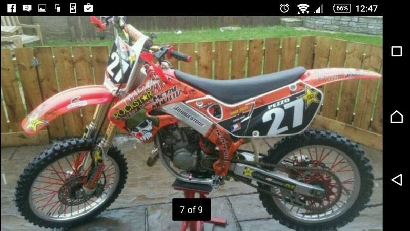 Honda cr 125 swap for 250 will ad cash