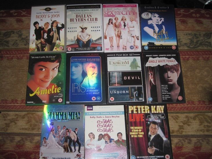 11 x DVD's in perfect condition and boxed, great selection