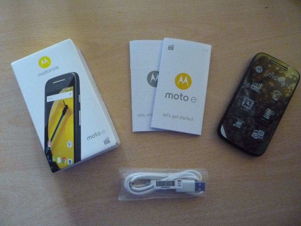 Motorola Moto E 4G Phone - SIM Free - Unlocked - New & Boxed - Never Used