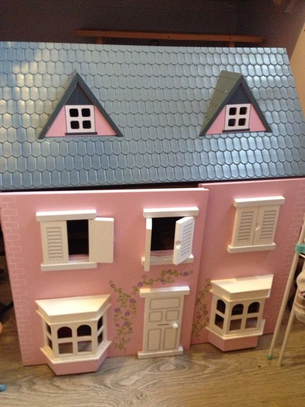 Dolls house kids toy imaginary play Ono