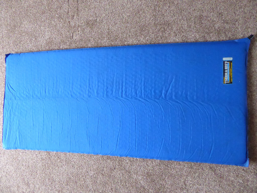 Original thermarest self inflating camping mat