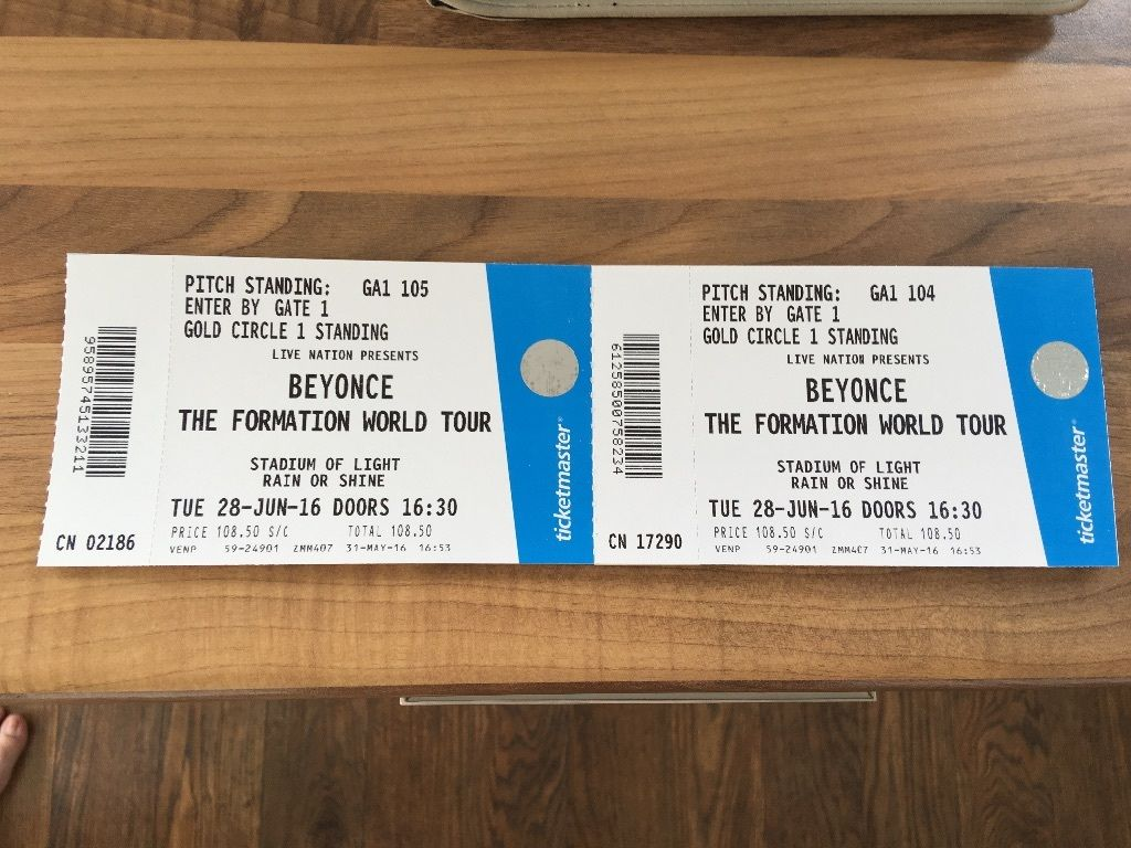 Beyonce golden circle tickets