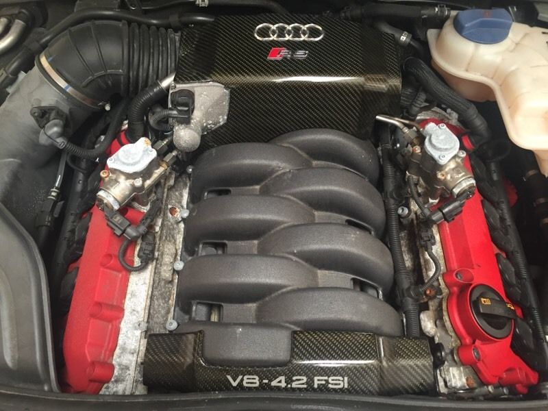 Audi rs4 2007 engine and gearbox complete with ecu