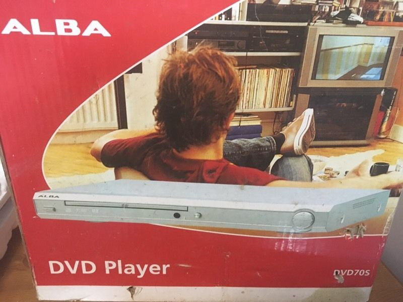 Alba DVD player never used
