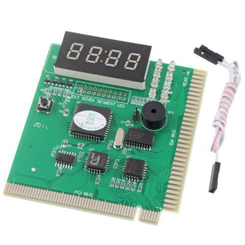 PC DIAGNOSTIC 4-Digit CARD Motherboard POST Tester