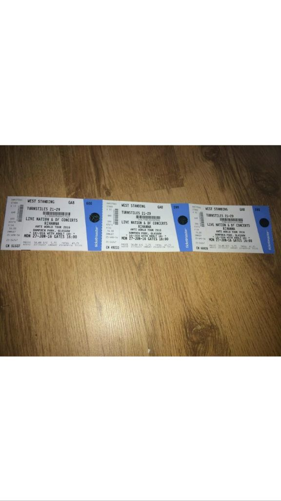 Rihanna tickets Hampden park