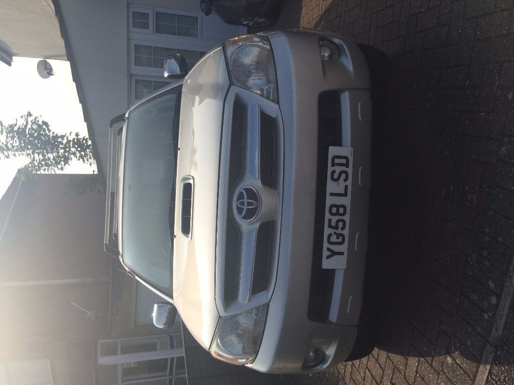 Toyota Hilux 58 Plate Good Condition