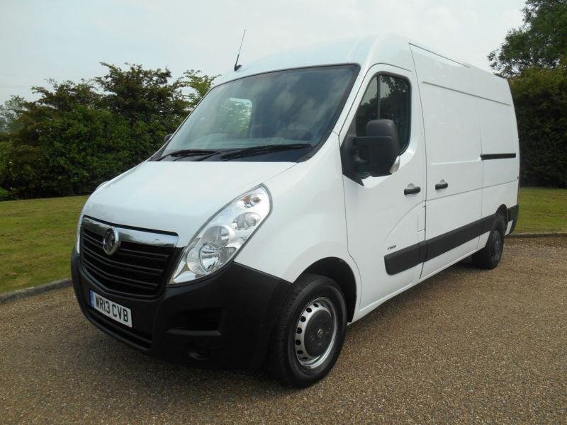 2013 13 VAUXHALL MOVANO 2.3CDTI L2H2 MWB 3500 REAR RAMP AND WINCH IMMACULATE VAN