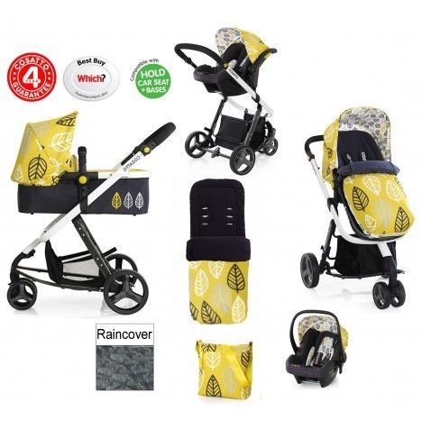 Cosatto Giggle Oaker 3 in 1 Travel System
