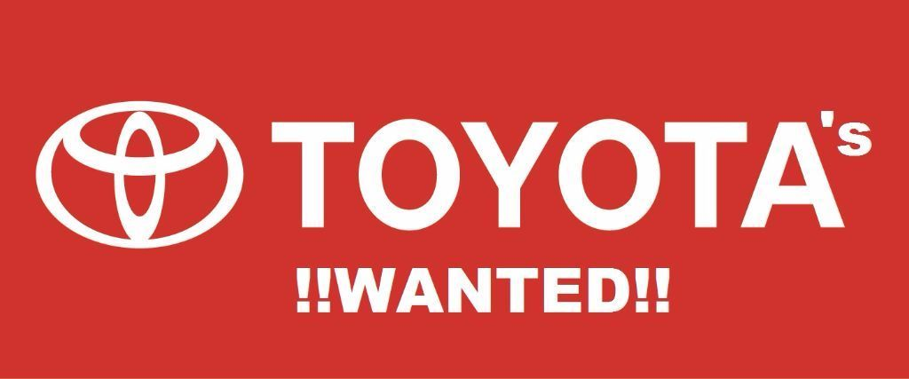 Toyota's Wanted