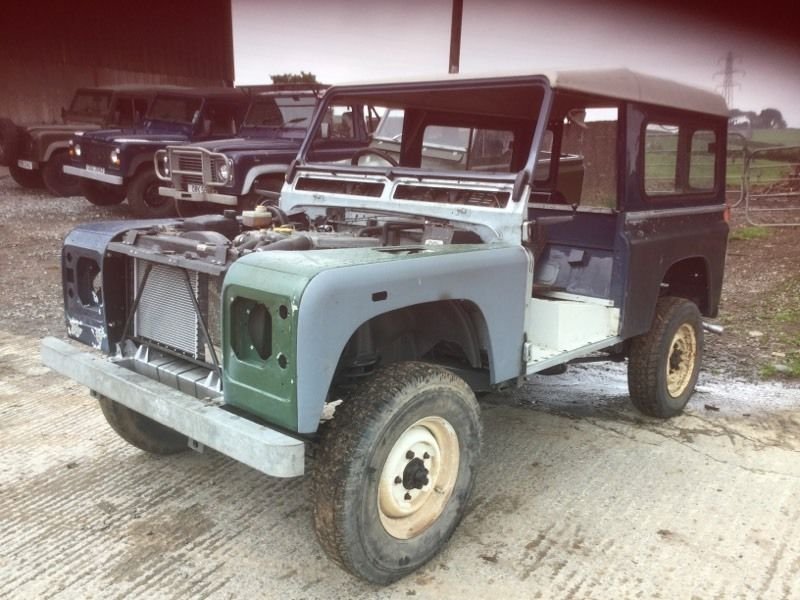 Landrover defender gearbox supplied & fitted