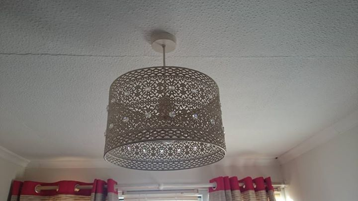 2 GORGEOUS MATCHING LIGHT SHADES