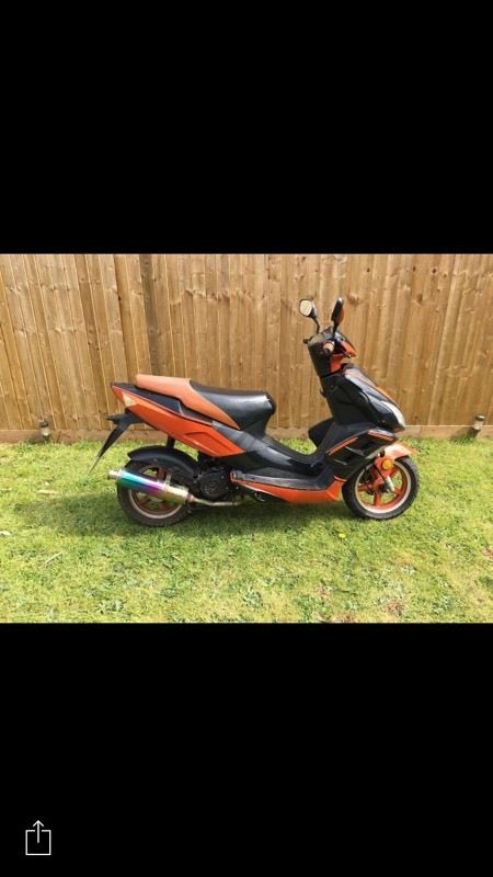 50 cc with MOT till FEB 2017