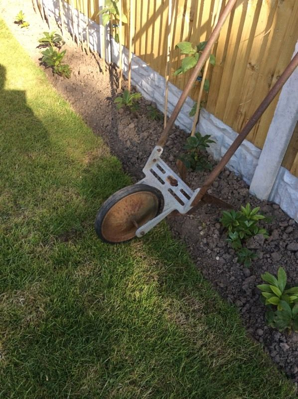 ANTIQUE GARDEN PLOUGH