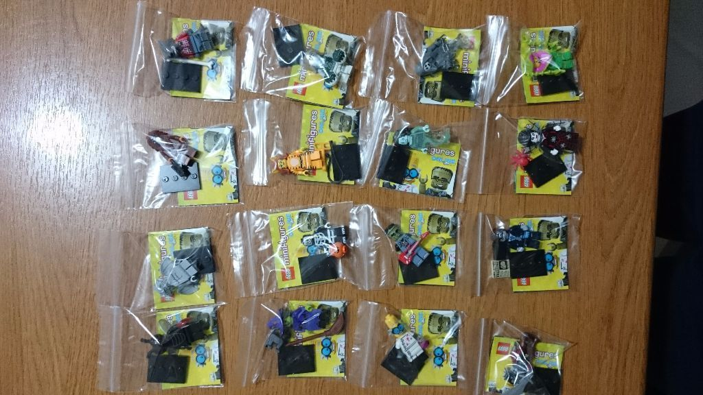 LEGO minifigures series 14 Monsters full set