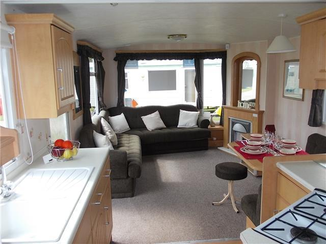 Static caravan for sale 2004 at Kessingland Beach, Nr Southwold, Suffolk