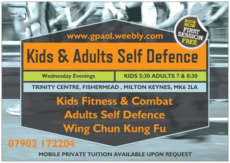 Self Defence classes for kids and adults in Milton Keynes