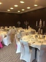 Wedding Chair Cover, Candelabra & Decoration Hire