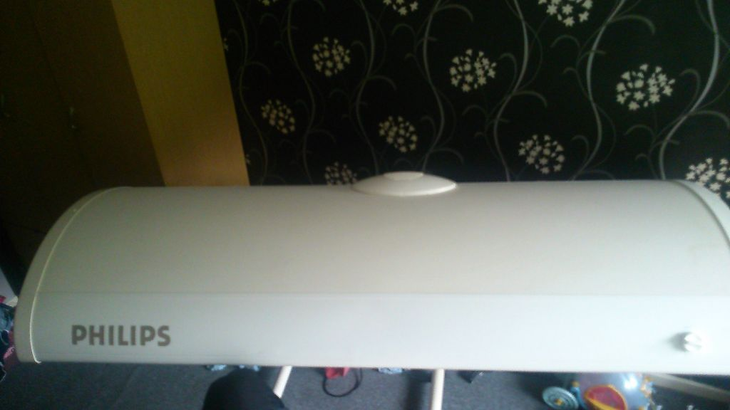 Philips HB554 sunbed, stand & swivel.