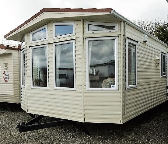 Static Caravan - Suitable for Living- Double Glazed- Central Heated
