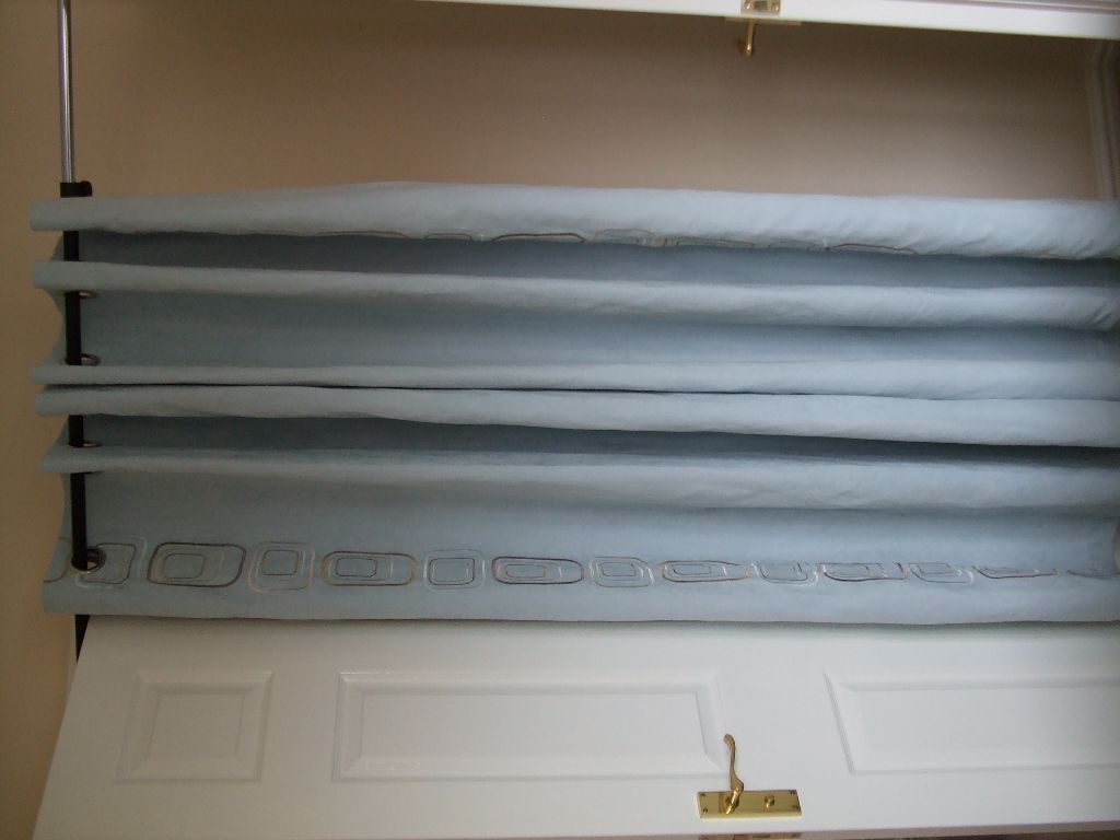 2 Pairs of Curtains Duck Egg Blue 46 X 68 Will seperate